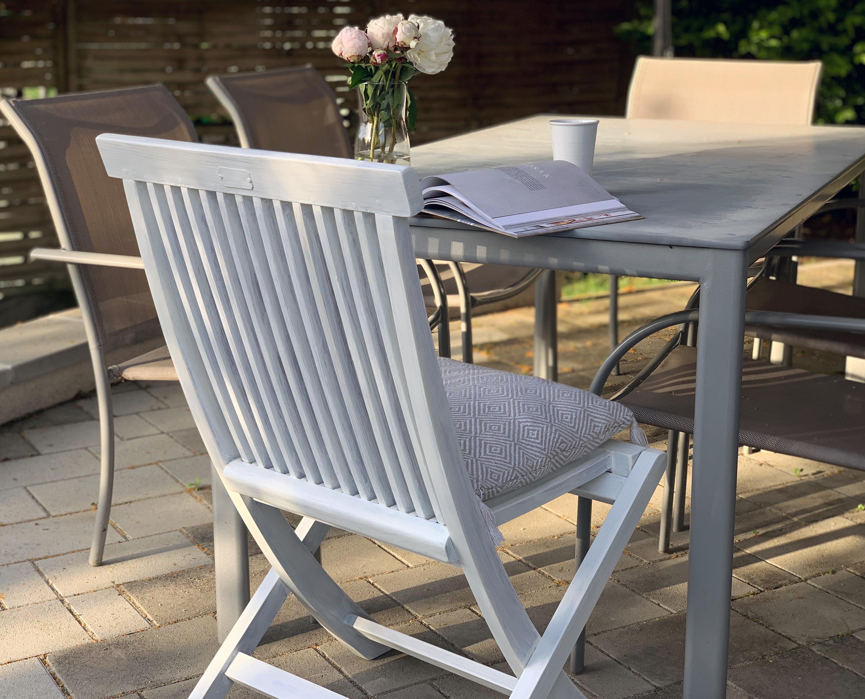 Kerti bútor – fehér lazúr ruhában – Masni Dekoráció